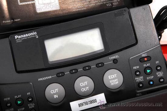 Cine: PANASONIC VIDEO EDITING VW-EC1 - Foto 3 - 36786050
