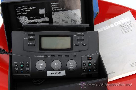 Cine: PANASONIC VIDEO EDITING VW-EC1 - Foto 6 - 36786050