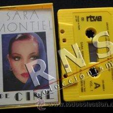 Cine: SARA MONTIEL DE CINE VOL 1 - MÚSICA CANCIONES DE PELÍCULAS ACTRIZ CANTANTE ESPAÑOLA CASETE AÑOS 80. Lote 36870343