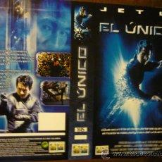 Cine: CARTULA VIDEO VHS EL UNICO -JET LI. Lote 37000789
