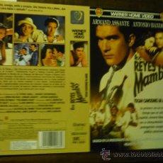 Cine: CARTULA VIDEO VHS LOS REYES DEL MAMBO .-ANTONIO BANDERAS. Lote 37000955