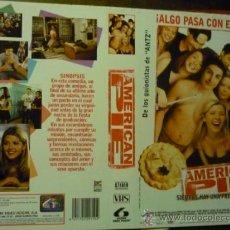 Cine: CARTULA VIDEO VHS -AMERICAN PIE -. Lote 37001031