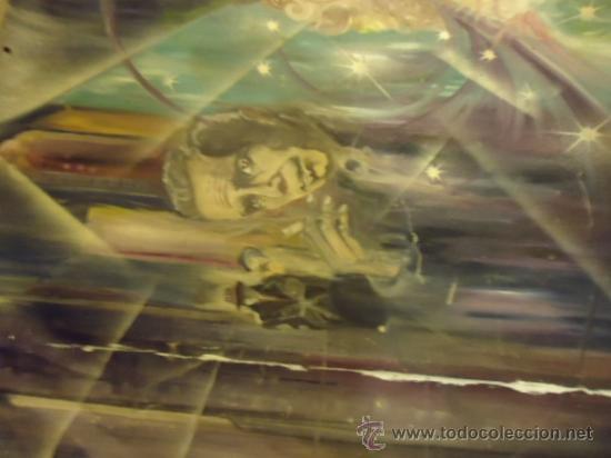Cine: coleccionistas de cine ,Marilyn Monroe, Humphrey Bogart, gigantesco oleo años 50/60 , 205 x 181 cm - Foto 17 - 36996215