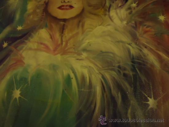Cine: coleccionistas de cine ,Marilyn Monroe, Humphrey Bogart, gigantesco oleo años 50/60 , 205 x 181 cm - Foto 13 - 36996215