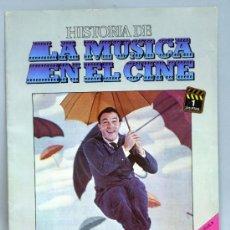 Cine: HISTORIA MÚSICA EN EL CINE FASCÍCULO Nº 1 DISCOS BELTER 1982. Lote 37252561