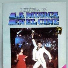 Cine: HISTORIA MÚSICA EN EL CINE FASCÍCULO Nº 2 DISCOS BELTER 1982. Lote 37252596