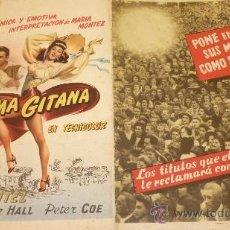 Cine: PRUEBA DE IMPRENTA ORIGINAL DE DISTRIBUIDORA DE PELÍCULAS AÑO 1945-46. . Lote 37893175