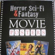 Cine: LIBRO HORROR, SCI-FI AND FANTASY MOVIE POSTERS. Lote 38201979