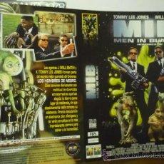 Cine: CARTULA VIDEO MIB MEN IN BLACK--TOMMY LEE JONES. Lote 38506331