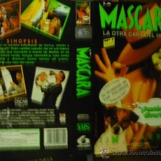 Cine: CARATULA VIDEO VHS LA MASCARA - JIM CARREY. Lote 38708259