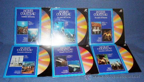 Cine: Laserdisc, DISCOS LASER DOCUMENTALES, RODRIGUEZ DE LA FUENTE, NATIONAL GEOGRAPHIC, JACQUES COUSTEAU - Foto 2 - 39061199