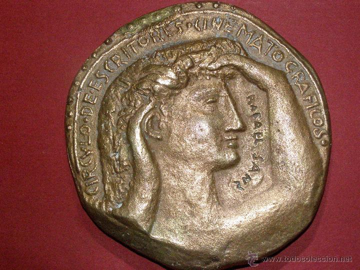 Cine: Medalla Circulo de escritores cinematográficos - Concedida en 1948 - - Foto 2 - 40697380