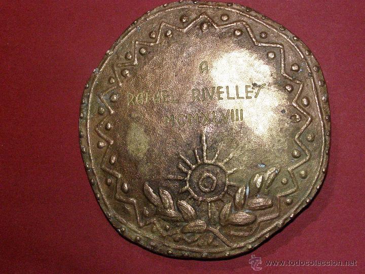Cine: Medalla Circulo de escritores cinematográficos - Concedida en 1948 - - Foto 3 - 40697380