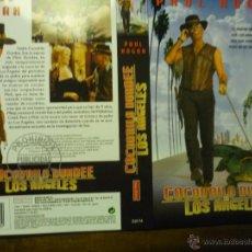 Cine: CARATULA VIDEO VHS COCODRILO DUNDEE EN LOS ANGELES .- PAUL HOGAN. Lote 41268631