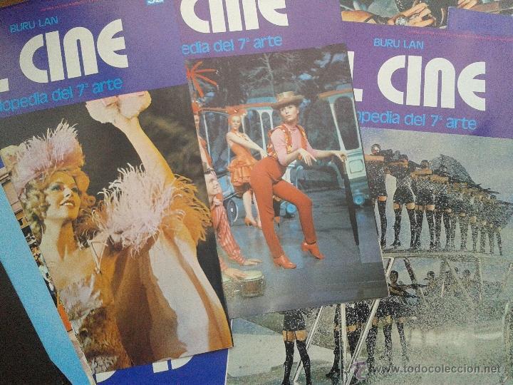 LOTE 50 PORTADAS ENCICLOPEDIA DEL 7 ARTE EL CINE BURU LAN AÑO 1973 (Cine - Varios)