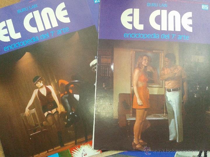 Cine: LOTE 50 PORTADAS ENCICLOPEDIA del 7 ARTE EL CINE BURU LAN AÑO 1973 - Foto 2 - 48308607