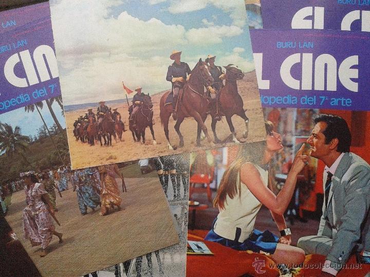 Cine: LOTE 50 PORTADAS ENCICLOPEDIA del 7 ARTE EL CINE BURU LAN AÑO 1973 - Foto 3 - 48308607
