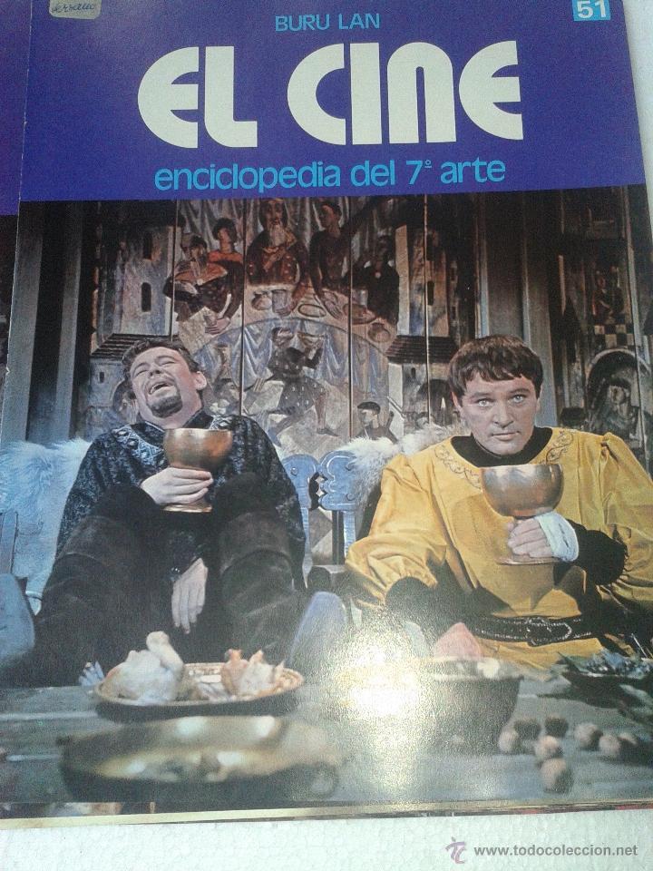 Cine: LOTE 50 PORTADAS ENCICLOPEDIA del 7 ARTE EL CINE BURU LAN AÑO 1973 - Foto 18 - 48308607