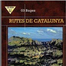 Cine: CD ROM - RUTES DE CATALUNYA Nº 3 BAGES. Lote 41713912