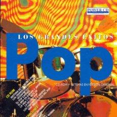 Cine: LOS GRANDES ÉXITOS DEL POP - CD-ROM + CD 12 TEMAS //. Lote 42165686