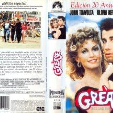 Cine: CARÁTULA VHS -GREASE. Lote 42320480
