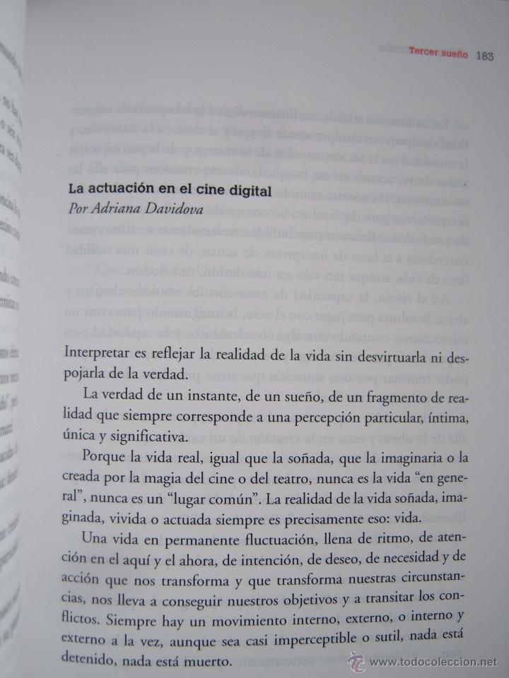 Cine: Soñar en acción, primer libro del actor y director Liberto Rabal. Adriana Davidova - Foto 5 - 42481511