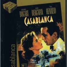Cine: LIBRETO CASABLANCA COLECCIÓN CINE DE ORO EL PAÍS 2005 NO INCLUYE CD PELÍCULA. Lote 43222632