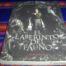 Cine: EL LABERINTO DEL FAUNO, GUIÓN CINEMATOGRÁFICO. ED. OCHO Y MEDIO 1ª ED 2006. NUEVO Y RARO.. Lote 43650516