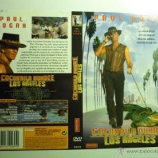 Cine: CARATULA VIDEO DVD COCODRILO DUNDEE EN LOS ANGELES.- PAUL HOGAN. Lote 43923197