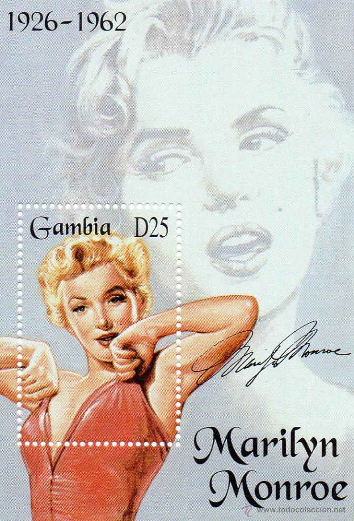 GAMBIA - CINE - MARILYN MONROE - AÑO 1995 - Nº MICHEL BLOCK 243 NUEVOS (Cine - Varios)
