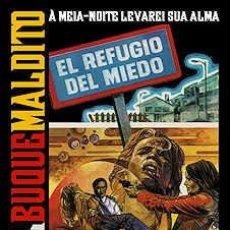 Cine: EL BUQUE MALDITO 21 GORE TERROR ZOMBIE FANTATERROR PAUL NASCHY. Lote 94294290