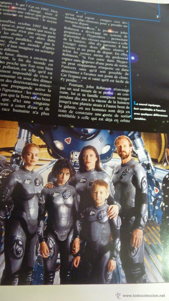 Cine: Libro Making of de la pelicula Perdidos en el espacio . 1998 127 pág. francés . numerosas fotos - Foto 2 - 44950809