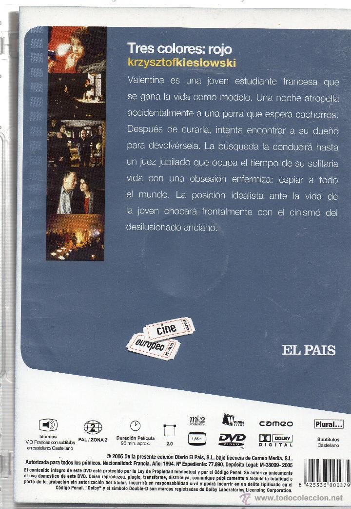 Cine: KRZYSZTOF KIESLOWSKI. LA TRILOGIA. EN MUY BUEN ESTADO. 3 DVD. - Foto 4 - 45090306