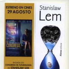 Cinema: EL CONGRESO, CON ROBIN WRIGHT. MARCAPÁGINAS.. Lote 45639840