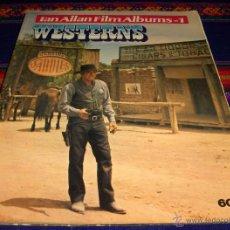 Cine: IAN ALLAN FILM ALBUMS Nº 1 WESTERNS. LONDON IAN ALLAN 1971. IMPRESCINDIBLE PARA AMANTES DEL GÉNERO. . Lote 45625207