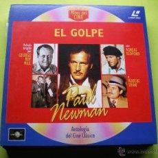 Cine: MITOS DEL CINE - PELICULA LASER DISC - EL GOLPE - PAUL NEWMAN. Lote 45671177