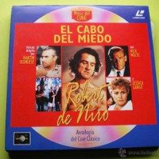 Cine: EL CABO DEL MIEDO LASER DISC - COLECCION MITOS DEL CINE ANTOLOGIA DEL CINE CLASICO. Lote 45671282