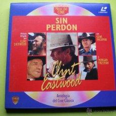 Cine: SIN PERDON LASER DISC - COLECCION MITOS DEL CINE ANTOLOGIA DEL CINE CLASICO. Lote 45671348