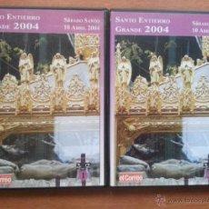 semana santa - santo entierro grande 2004 - 2 dvd - sabado santo volumenes 1 y 2 - el correo