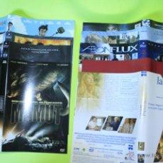 Cine: LOTE 9 CARATULAS DVD, PULSE,EL DIARIO DE NOA,AEONFLUX,BAILANDO,LA VERDAD OCULTA,DONKEY XOTE.... Lote 46182412