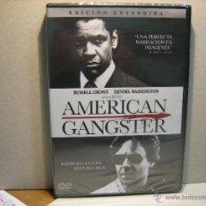 Cine: PELICULA CINE EN DVD: AMERICAN GANGSTER. RUSSELL CROWE. DENZEL WASHINGTON. RIDLEY SCOTT. Lote 47256096