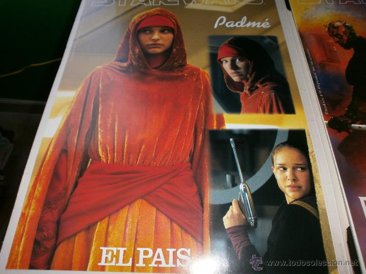 Cine: PORTFOLIO CARPETA STAR WARS EPISODIO I LA AMENAZA FANTASMA - PERIODICO EL PAIS - COMPLETO. - Foto 4 - 47902766