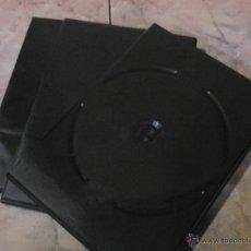 Cine: LOTE 3 CARCASAS EN COLOR NEGRO PARA DVD.. Lote 48380624