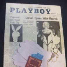 Cine: PLAYBOY - PORTADA MARILYN MONROE - SEPTEMBER 1955 - EN INGLES - . Lote 48582966