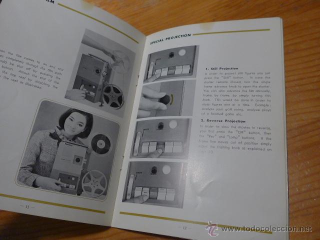 Cine: Antiguo catalogo de maquina de cine minolta AP-8S super 8 - Foto 3 - 48696518