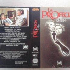 Cinema: SOLO CARATULA VIDEO - LA PROFECIA - GREGORY PECK, RICHARD DONNER. Lote 48838468