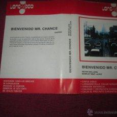 Cinema: SOLO CARATULA ~ BIENVENIDO MR CHANCE ~ . Lote 48865853
