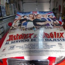 Cine: CINE POSTER ASTERIX CARTON TROQUELADO ENORME 215X140 CMS.VER FOTOS. Lote 48935065