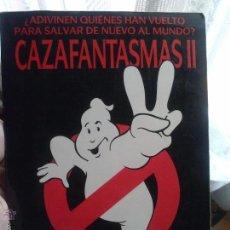 Cine: CAZAFANTASMAS II . Lote 49088071