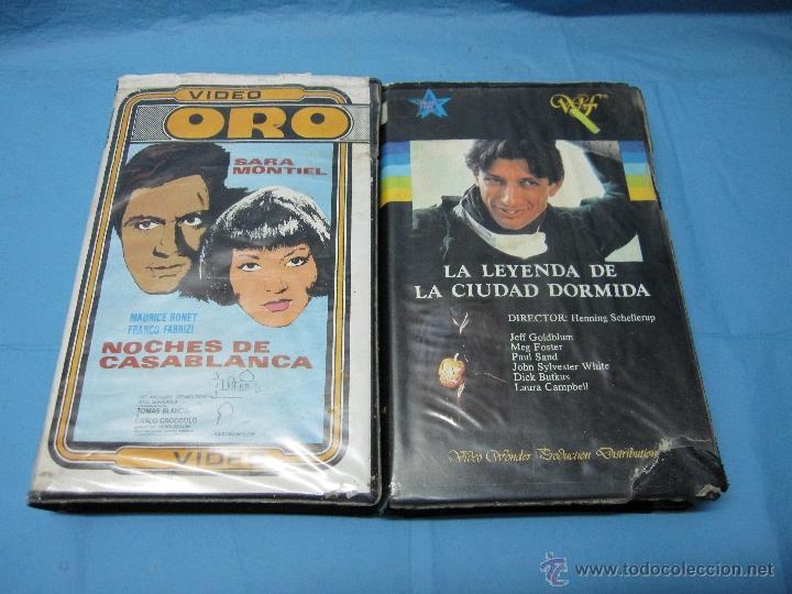 DOS PELICULAS DE VIDEO SISTEMA 2000 PELICULA (Cine - Varios)